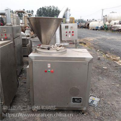 山东梁山正点二手设备出售长相思灌肠机 回收灌肠机