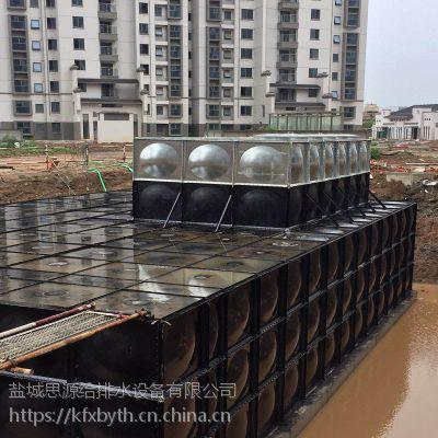 包安装地埋式箱泵一体化泵站水箱
