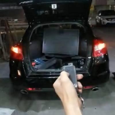 本田歌诗图改装电动尾门,为你带来一键开门驾驭体验
