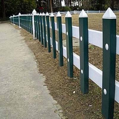浙江金华绿化带护栏pvc塑钢草坪护栏绍兴花园围栏嘉兴 温州护栏
