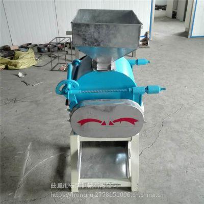 220V挤扁机,燕麦制扁机,宏瑞生产制扁机 厂家