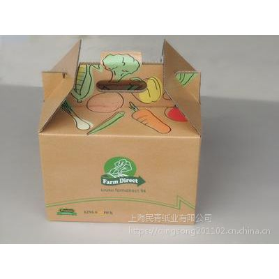 闵行纸箱厂 外卖快餐盒 民青纸业 二层牛皮纸盒 食品包装盒