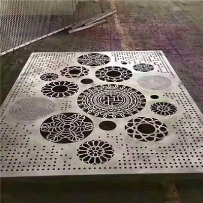 商场铝单板镂空花吊顶图片/价钱