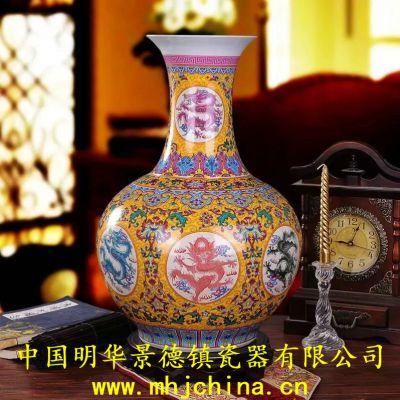 陶瓷凳子 景德镇瓷器 景德镇陶瓷 花瓶 陶瓷工艺品879