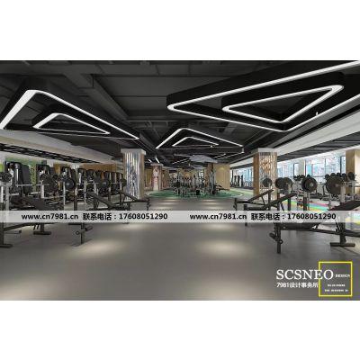 成都专业健身房设计 高端健身房设计