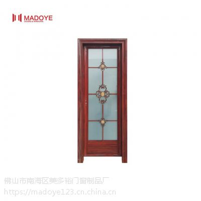 佛山美多裕门窗供应铝合金门 定制厕所单包边平开门 隔音防水
