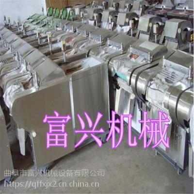 食堂专用富兴切菜机价格 高效商用新款切菜机型号
