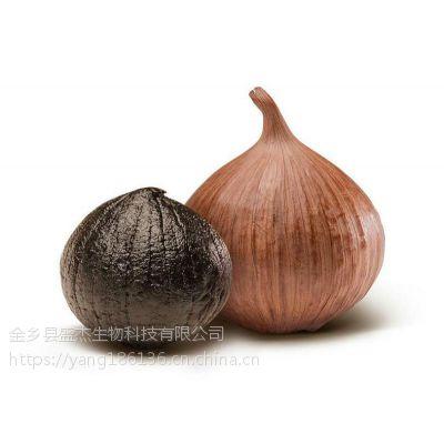 百益坊发酵黑蒜独头黑大蒜高温发酵云南紫皮独头蒜出口级质量