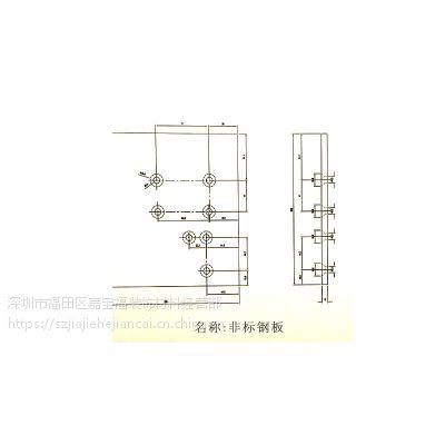 现货热镀锌钢板 可开平分条加工 质量保证