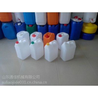 塑料吹塑机|液位线双层吹塑设备|通佳4L润滑油桶生产设备