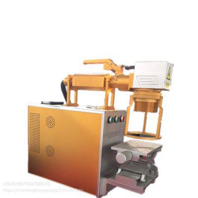 山东便携式平面大工件激光打码机,方便快捷,操作简单,厂家直销