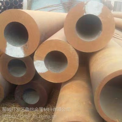 供应浙江厚壁无缝钢管定尺、切割厂家&45#大口径热扩无缝钢管价格
