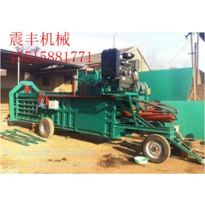 震丰机械长期供应玉米秸杆收割打包机设备 质量保证 价格公道