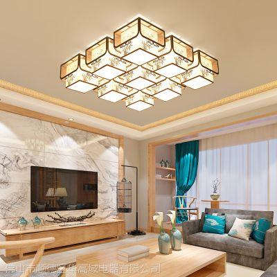新中式吊灯简约客厅茶楼走廊吸顶灯