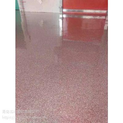 青岛压沙地坪漆材料厂家批发 宏源牌 地坪工程