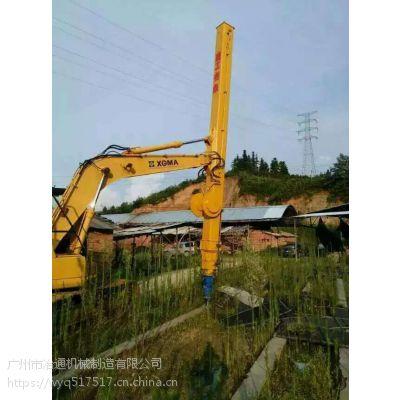 广州挖掘机伸缩臂