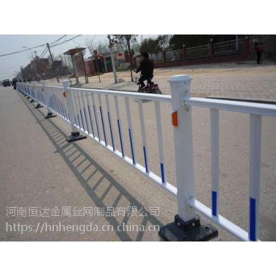 郑州道路护栏厂家 锌钢护栏 PVC护栏价格