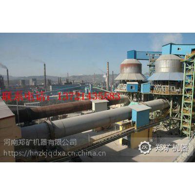 郑矿机器供应1.6*32-4m*60m金属镁回转窑,金属镁生产线煅烧设备