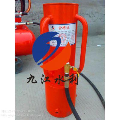 专业应急防汛打桩机、便携式打桩机价格 九江水利植桩机