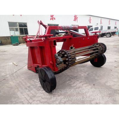 拖拉机牵引动力薯类收获机生产厂家 圣泰牌多功能红薯收获机价格