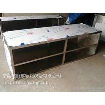 广州生物制药GMP车间304不锈钢更鞋柜13年定做厂家