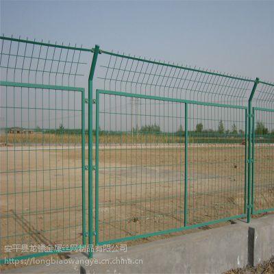 场地围网价格 工地隔离防护网 浸塑铁丝网价格