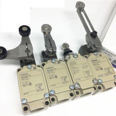 欧姆龙行程开关WLG12-LD WLGL-LE WLGL-LD带灯限位开关质保二年