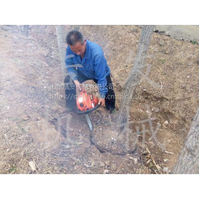 便携式断根移植机 树木移植机视频图片