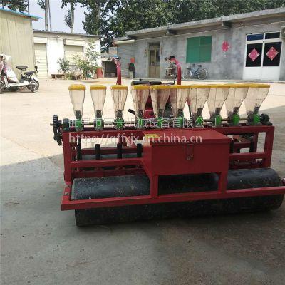 四轮带蒲公英四行精播机 娃娃菜藜麦播种机 多功能农作物播种机厂家