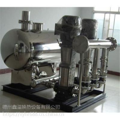 鑫溢 多功能实时控制供水设备 变频无负压给水装置 原理