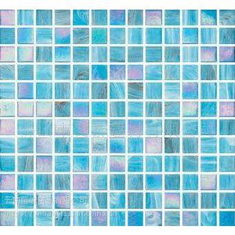 供应;游泳池陶瓷马赛克-游泳池水晶马赛克