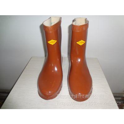 现货供应绝缘橡胶鞋 电工鞋 25kv绝缘鞋 冀航电力