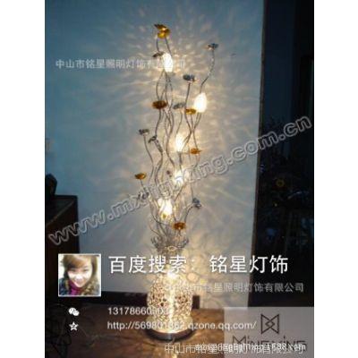 酒店大堂工程设计师客厅卧室创意艺术铝丝花瓶花篮时尚婚庆落地灯