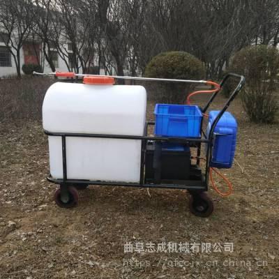 志成树木病虫推车式打药机猪牛养殖消毒设备养殖场地面清洗设备