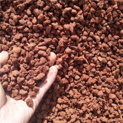 诚鑫厂家供应微景观用火山石 多肉植物铺面火山石颗粒