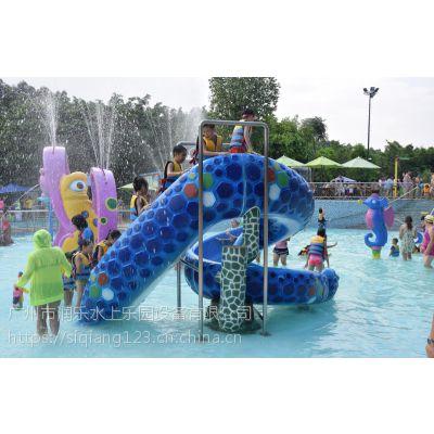 广州润乐水上设备-蛇形滑梯