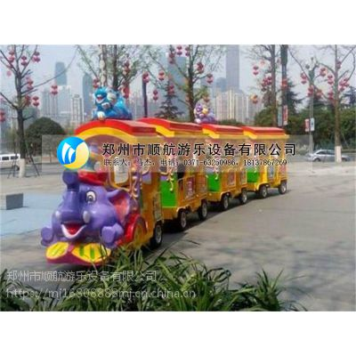 销售火爆广场游乐无轨大象观光火车,大象观光火车顺航供应商