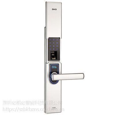 K-1801智能锁(时尚银) -智能锁供应-深圳必凯必