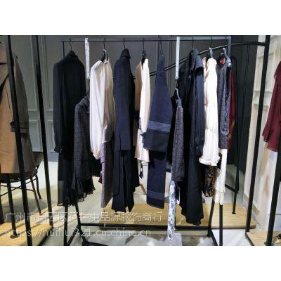 韩国高端设计师品牌try me18年秋冬装大衣羽绒服品牌折扣女装一手货源分份批发