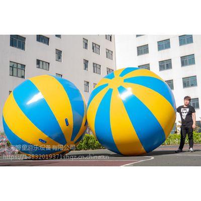 趣味运动会充气道具运转乾坤球亲子户外拓展大球毛毛虫碰碰球游戏