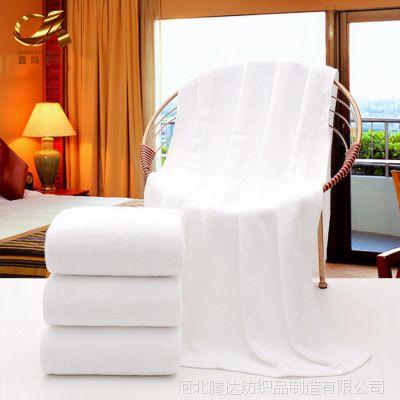 毛巾厂家批发浴巾纯棉成人加大加厚 宾馆酒店美容礼品吸水白浴巾