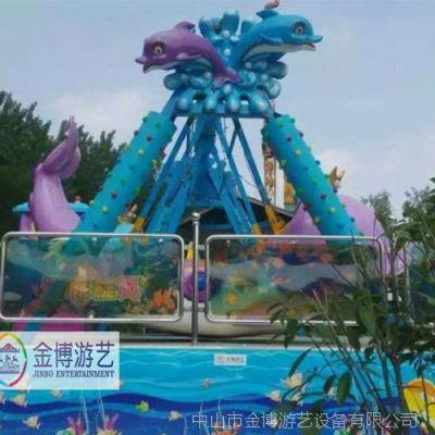 小型游乐场设备 儿童游乐设备海盗船  金博海底旋风双排海盗船