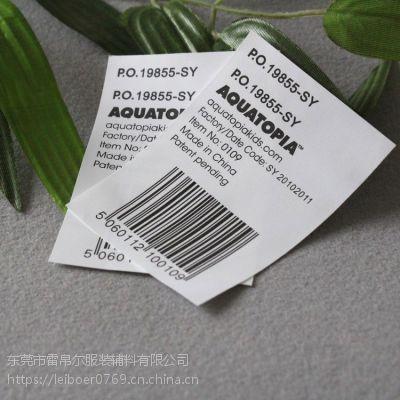广州服装水洗唛厂家 T恤洗水标 量大从优欢迎咨询