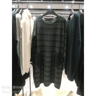 欧洲毛衣秋装品牌折扣女装一手货源库存现货免费加盟正品批发走份