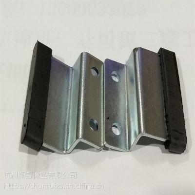西子电梯橡胶配件 订做减震器厂家 丁腈橡胶门滑块