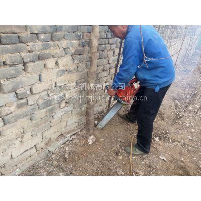 链条手持式挖树机 三分钟就能挖一棵树 浩发