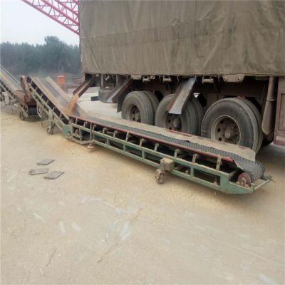 粮食旋转式皮带输送机 兴亚化肥带式输送机生产制作