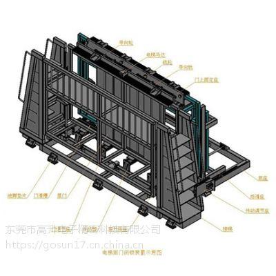 供应德尔塔仪器GB/T2611-2007电梯层门门锁性能试验装置
