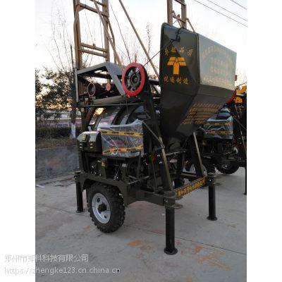 广东韶关郑科JG320搅拌加提升结构一体型搅拌设备