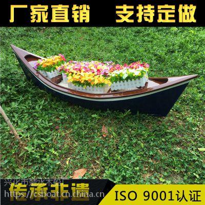 新款热销 欧式船 景观木船 公园装饰 木船 客船 出售